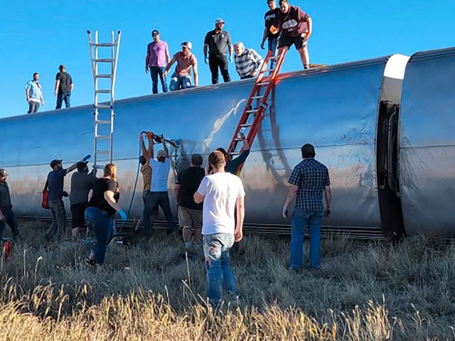 Montana: Mindestens drei Tote bei Zugunglück in den USA