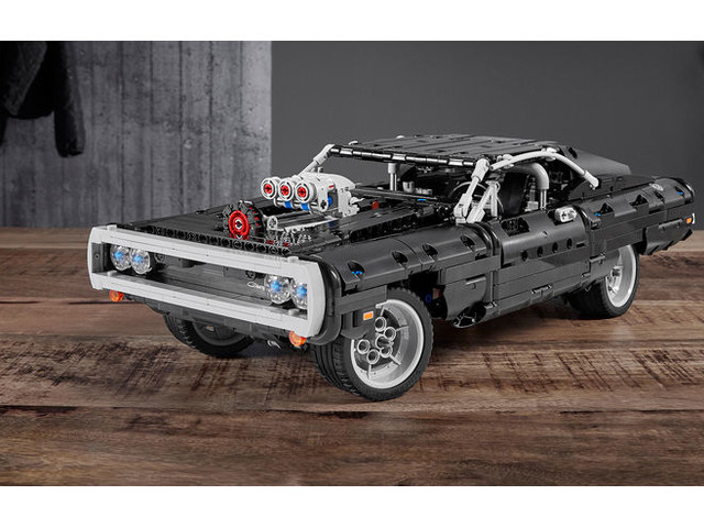 """Lego Technic meets """"The Fast and the Furious"""": Dom Torettos Charger zum Selberbauen"""