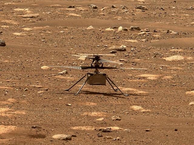 So hoch wie nie: Mars-Helikopter meistert komplexen Flug