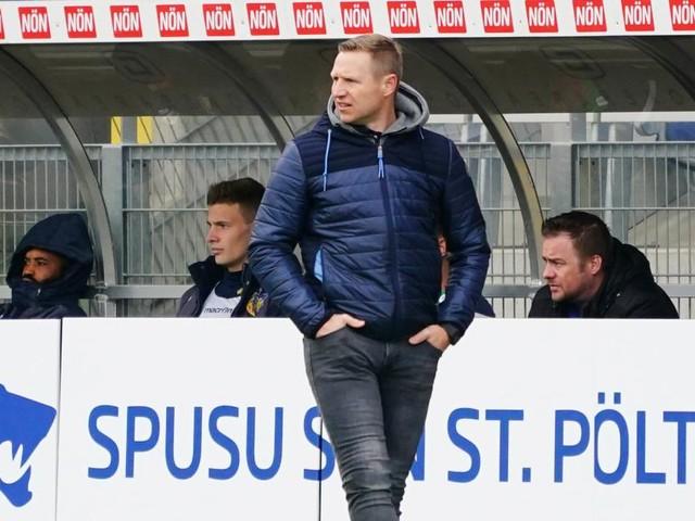 Der SKN St. Pölten trennt sich von Trainer Ibertsberger