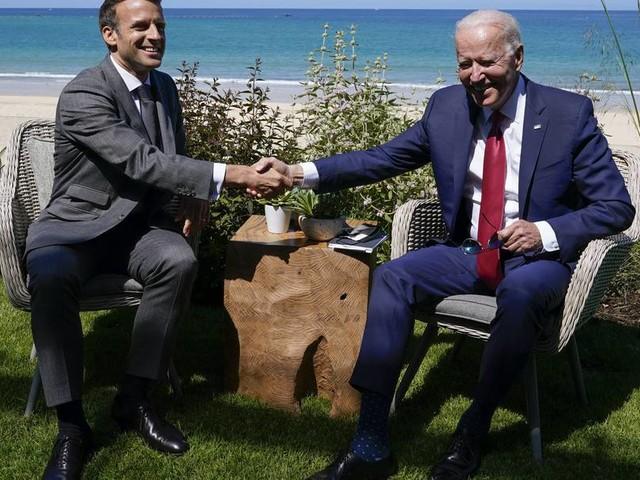 Telefonat im U-Boot-Streit: Biden und Macron verabreden Treffen im Oktober