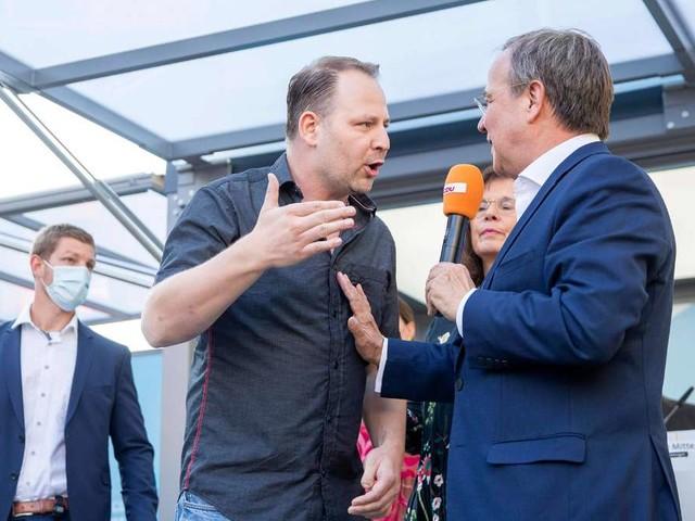 """Eklat um neues CDU-Video: Laschet-Wahlkampf mit Querdenker empört - """"Ohne Anstand"""""""