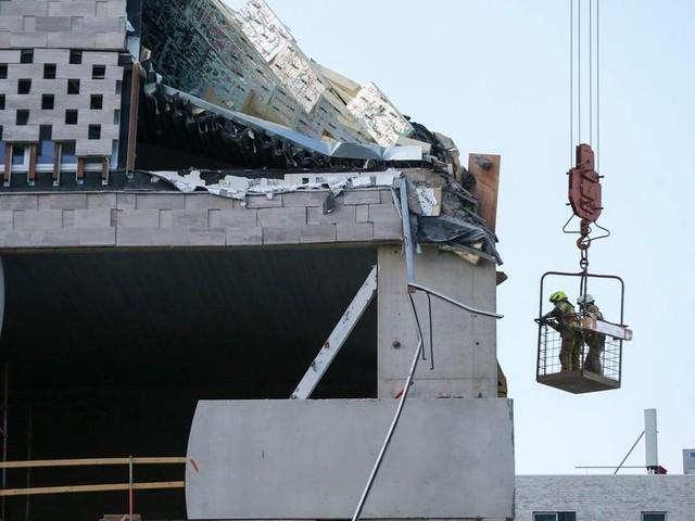 Grundschule in Antwerpen eingestürzt: Mindestens ein Toter