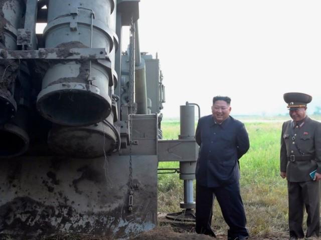 "Nordkorea testet ""supergroßen"" Raketenwerfer"