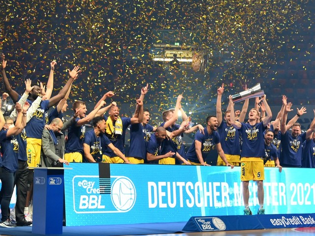 Basketball, BBL-Finale: Alba Berlin feiert zehnte Meisterschaft und Titelverteidigung