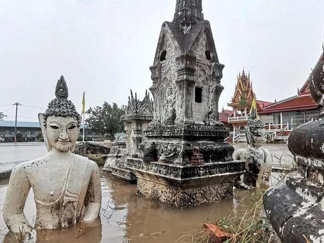 Tropensturm sorgte für schwere Überflutungen und Tote in Thailand