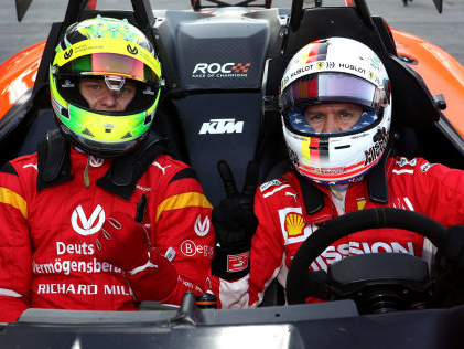 """Formel 1: Ferrari mit zwei Deutschen Stuck: """"Mick wird seinen Weg gehen"""""""