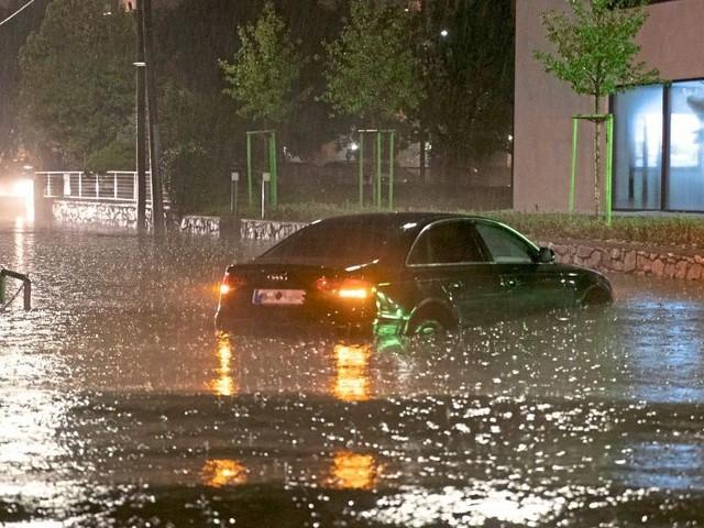 Unwetter beschädigen mehrere Häuser in Graz