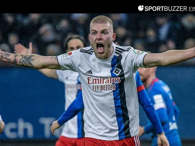 HSV in der Einzelkritik: Die Noten zur Niederlage gegen Heidenheim