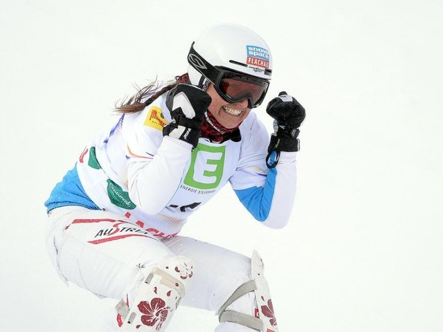 """Snowboarderin Riegler: """"Bis 41 war ich immer im Minus"""""""