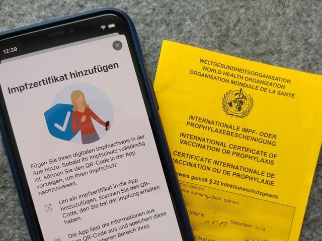 Digitales Impfzertifikat: Erste Apotheken starten ab heute
