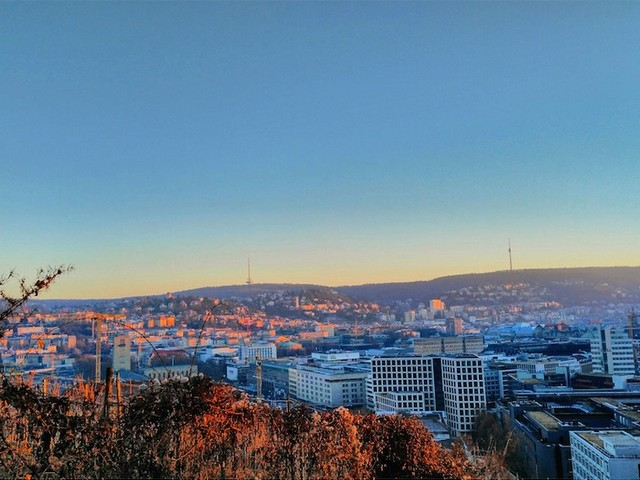 Stuttgart ist die stressfreiste Stadt