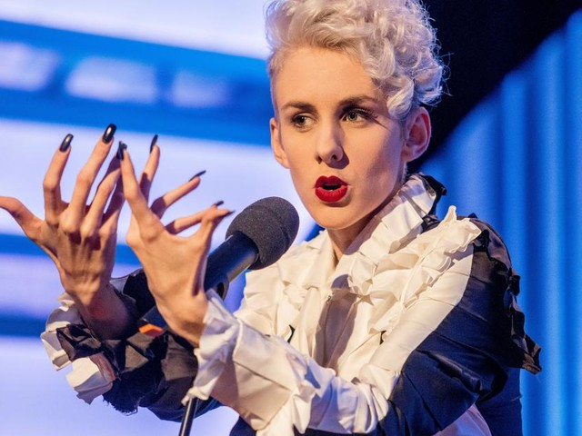 Kabarettistin Lisa Eckhart von Literaturfestival ausgeladen