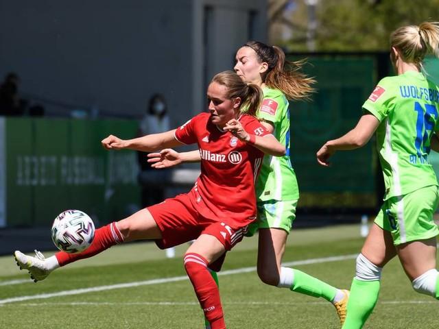 1:1 in Wolfsburg: Bayern-Frauen greifen nach dem Titel