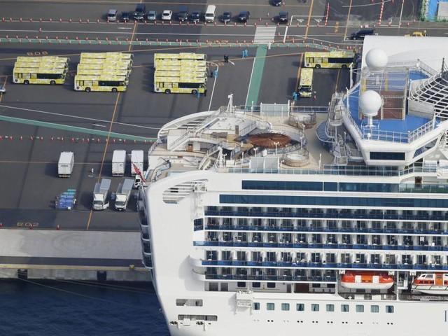 "Nach Quarantäne: Erste Passagiere verlassen die ""Diamond Princess"""