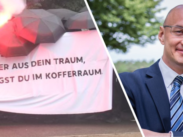 """Erschreckender Vorfall in Leipzig - """"Dann liegst Du im Kofferraum"""": Linke drohen Polizeichef mit Mord, der reagiert knallhart"""