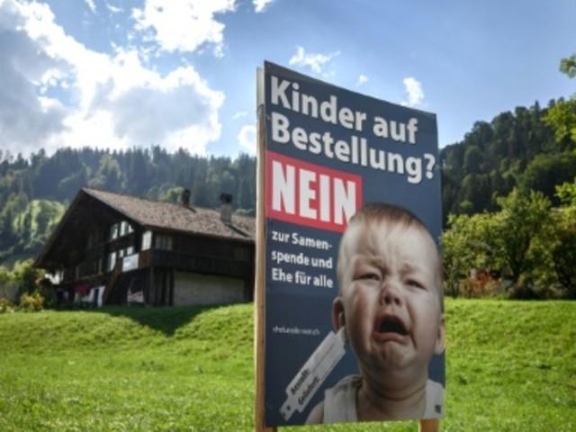 Volksabstimmung in der Schweiz über gleichgeschlechtliche Ehen