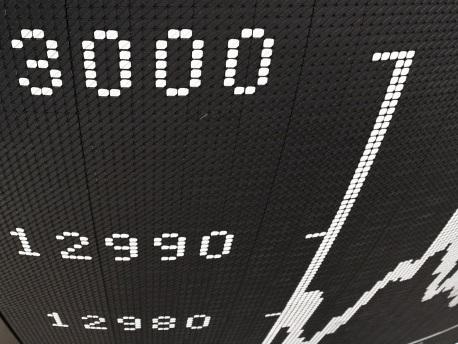 Der Dax steigt über 13.000 Punkte