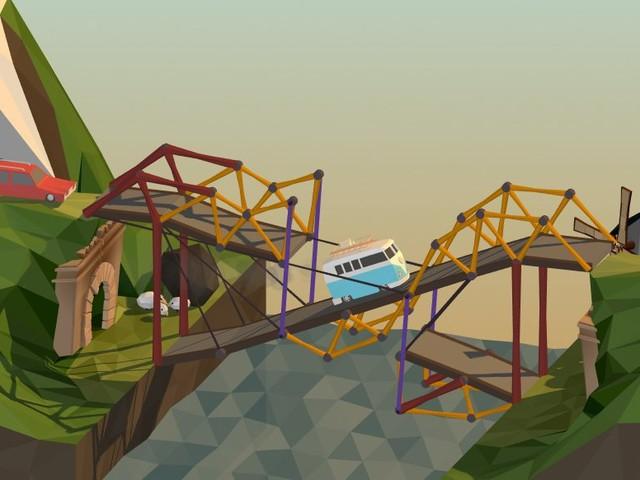 Brückenbau-Simulator Poly Bridge wird auch auf Switch veröffentlicht