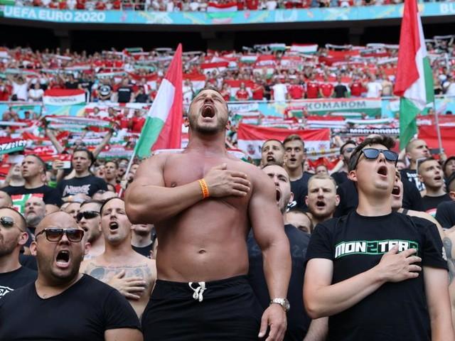 Zwei Geisterspiele und 100.000 Euro Geldstrafe wegen Ungarns Fans