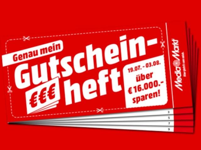 Sparen mit Gutscheinen - Tolle Angebote im frischen Media-Markt-Flyer: Hier können Sie insgesamt 16.000 Euro sparen
