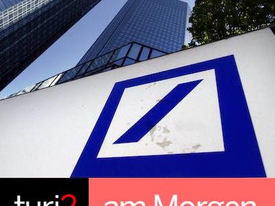 turi2 am Morgen: Deutsche Bank, Berliner Zeitung, Thomas Gottschalk.