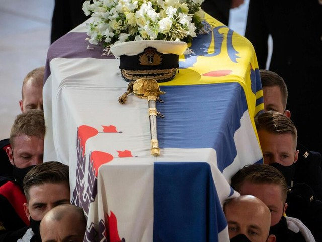Tränenreich und ehrwürdig: So war die Trauerfeier von Prinz Philip