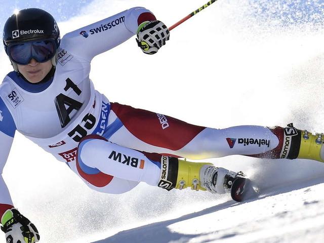 Ski alpin: Sensation durch jungen Schweizer, Dreßen weit zurück