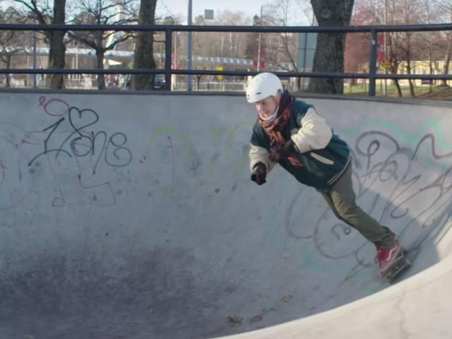 Mit 61 Jahren das Skateboard fahren als große Leidenschaft entdecken