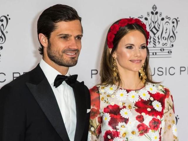 Prinz Carl Philip und Prinzessin Sofia positiv auf das Coronavirus getestet