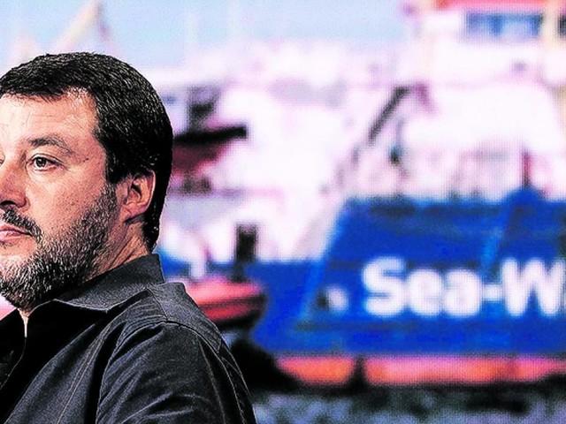 Eine Million Euro: Salvini will drastische Strafen für NGO-Schiffe