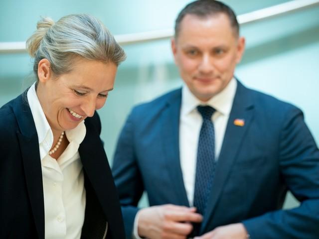 Alice Weidel und Tino Chrupalla Spitzenkandidaten der AfD