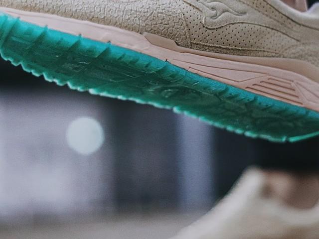 Kangaroos x Sapato x documenta | On Feet Pics eines exklusiven Sneaker