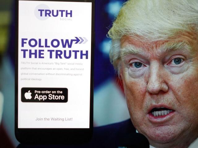 Truth Social: Trumps neues soziales Netzwerk: Anderer Nutzer schnappt sich seinen Nutzernamen