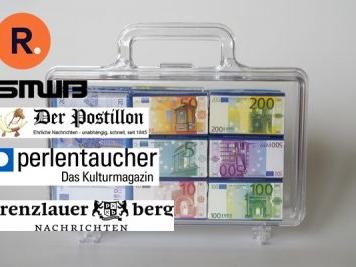 turi2 am Abend: Presseförderung, Mediengruppe RTL, Kieler Nachrichten.