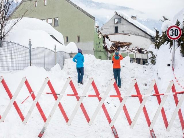 Die Heiligen Drei Könige bringen Schnee