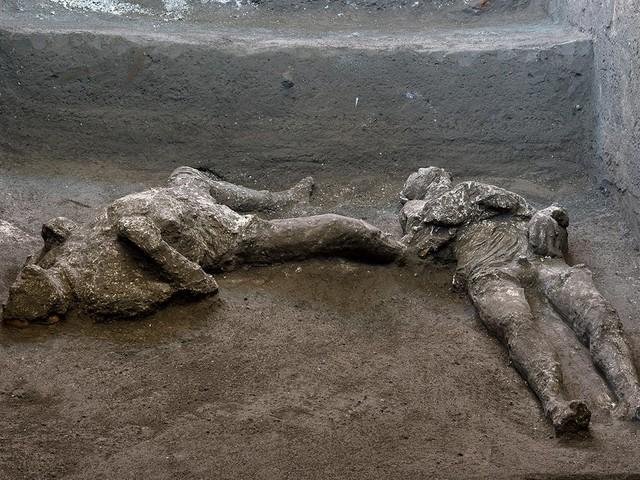 Pompeji: Spektakulärer Fund: Forscher entdecken 2000 Jahre alte Todesopfer von Vulkanausbruch