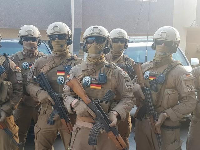 NS-Symbole bei deutscher Sicherheitsfirma im Irak: Die rechten Rambos von Asgaard