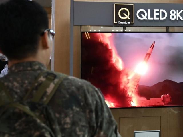 "Abschuss: Südkorea meldet zwei ""Projektile"" aus Nordkorea"