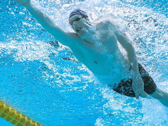 Felix Auböck steht im Olympia-Finale über 800 m Kraul