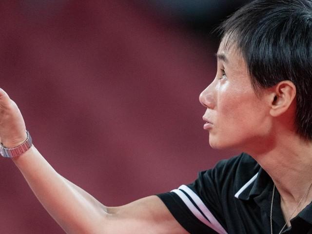 Tischtennis-Ass Liu Jia gewann Olympia-Auftakt gegen Gaponowa