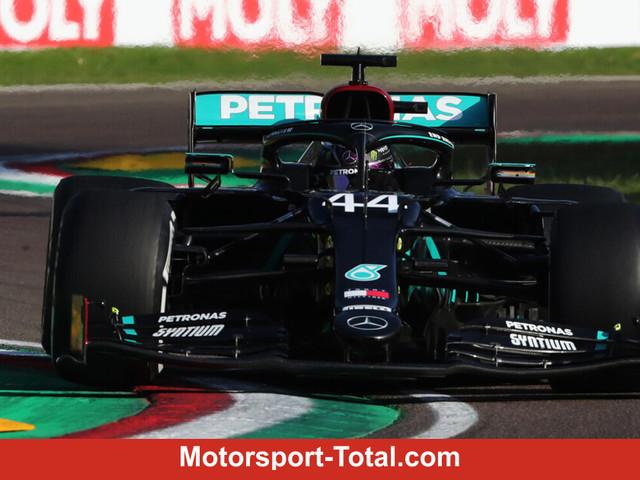 Formel 1 Imola 2020: Mercedes feiert Hamilton-Sieg und WM-Titel