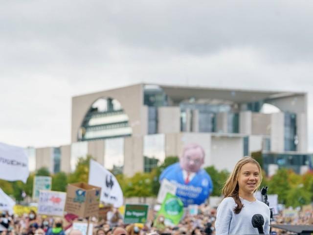»Fridays For Future«: Greta Thunberg nennt Deutschland einen der größten »Klima-Schurken«