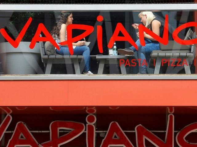 Vapiano steckt tief in den roten Zahlen