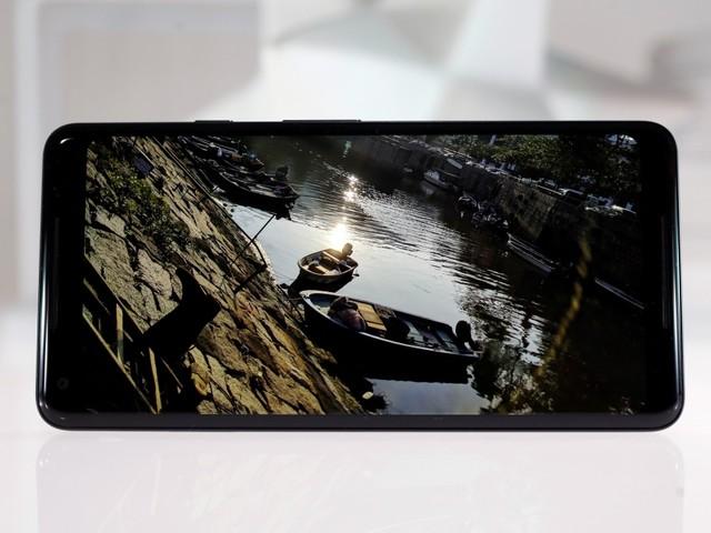 Stimmt was nicht mit Googles Pixel 2 XL Bildschirm?