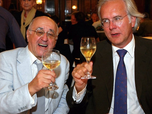 """Auftritt bei """"Alfredissimo"""" - """"Bisschen dünn"""": Als Alfred Biolek Harald Schmidts Suppe nicht schmeckte"""