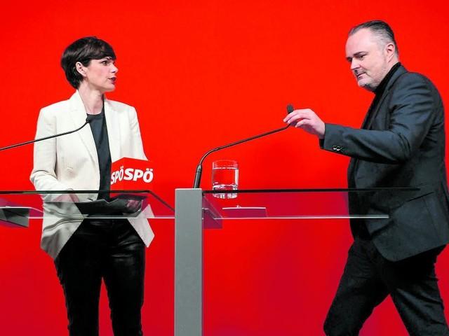 Eintrittstests: Ist Rendi-Wagner dafür ist Doskozil dagegen. Und umgekehrt