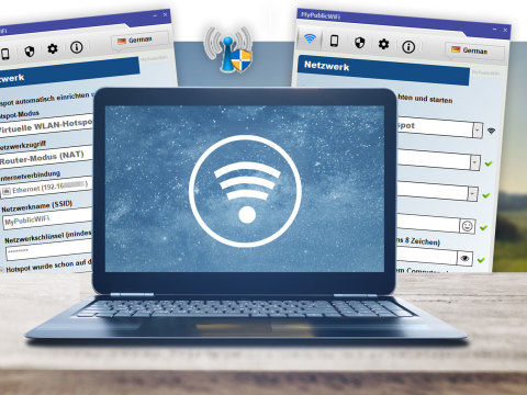 Windows 10 als WLAN-Hotspot: Gratis-Tool macht jeden PC zum virtuellen Router