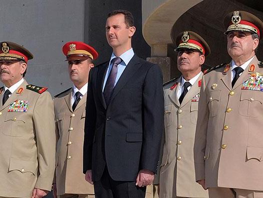 Assad er blevet stueren