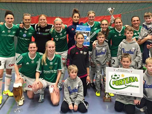 Fortuna vinder stor tysk indendørsturnering